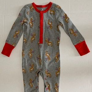 Toddler Rudolph Christmas 1 Piece  18 Months